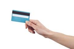 card krediteringsbetalning Fotografering för Bildbyråer