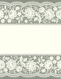 Card Lace Floral Pattern. Stock Image