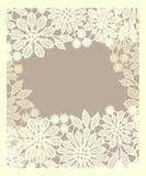 Card. Lace. Stock Photos
