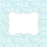 Card with lace Stock Images