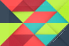 Card layout Royalty Free Stock Images