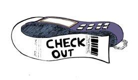 Card machine reader Stock Photo