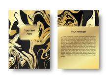 Card marble print Royalty Free Stock Photo