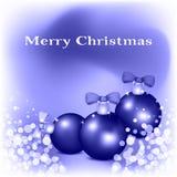 Card of Merry Christmas Stock Photos