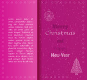 Card, merry christmas Royalty Free Stock Photo