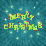 Card Merry Christmas. Vector Stock Images
