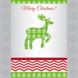 Card merry christmas vector Stock Photography