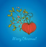 Card Merry Christmas Royalty Free Stock Images