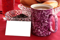 Card for messages Stock Images
