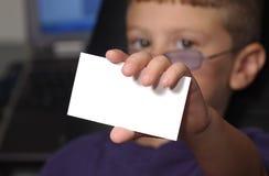 card mitt Fotografering för Bildbyråer