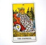 The Empress Tarot Card Mother Mothering Mother Earth Woman Feminine Archetype Stock Photo