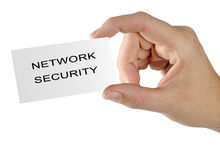 Card for network  security Stock Images