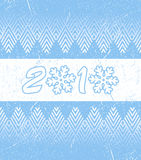 Card for New Year Royalty Free Stock Photos