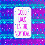 Card with new year Stock Images