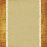 Card from old paper on the abstract background. Vintage card from old paper on the abstract background Royalty Free Stock Photos
