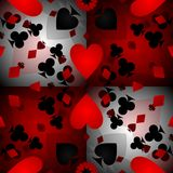 Card pattern background Stock Photos