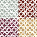 Card pattern background Royalty Free Stock Photography