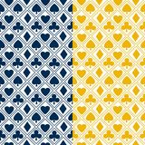 Card pattern background Royalty Free Stock Image