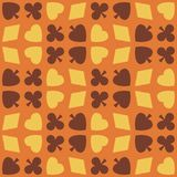 Card pattern background Stock Photo