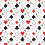 Card Pattern Royalty Free Stock Photos