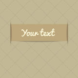 Card with place for your text. Arrival card with place for your text Royalty Free Stock Photo