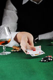 Card play Royalty Free Stock Photography