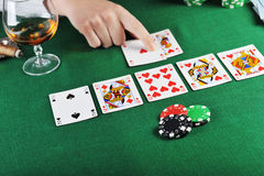 Card play Royalty Free Stock Image