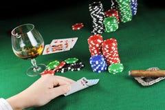 Card play Stock Photo