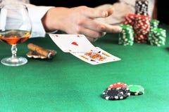 Card play Royalty Free Stock Photos