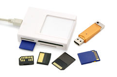 Card-reader Stock Images