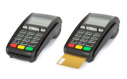 Card reader machine Stock Photography