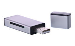 Card reader usb Royalty Free Stock Photo