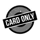 Card Only rubber stamp Stock Photography