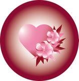 card Saint  Valentine holiday Stock Photos