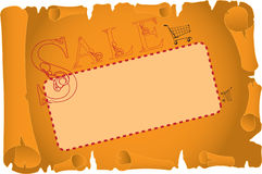 Card for sale Royalty Free Stock Image