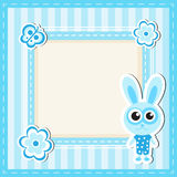 Card, scrapbooking baby animals Royalty Free Stock Photo