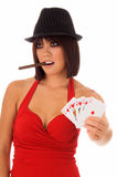 Card Shark Royalty Free Stock Image