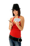 Card Shark Royalty Free Stock Photos