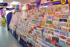 Card shop Stock Photography