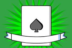 Card Spades Royalty Free Stock Image