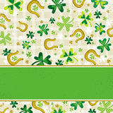 Card for St. Patrick's Day Stock Images