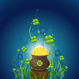 Card for St. Patrick's Day Royalty Free Stock Photo