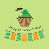 Card for st.patrick`s day Stock Images