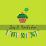 Card for st.patrick`s day Stock Photography