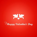 Card for St. Valentine's Day Stock Photography