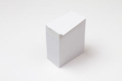 Card stack Stock Images