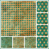 Card suits. Seamless pattern. Royalty Free Stock Images