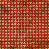 Card suits. Seamless pattern. Stock Images