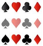 Card symbolic Stock Photography