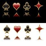 Card symbols Stock Images